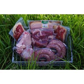 Colis de porc frais