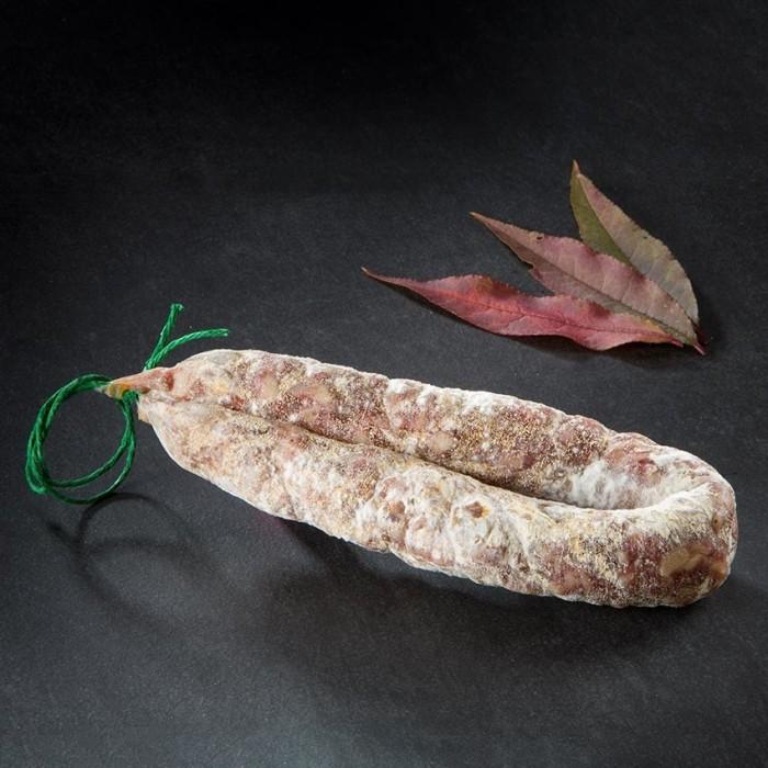Saucisse sèche au Roquefort pli