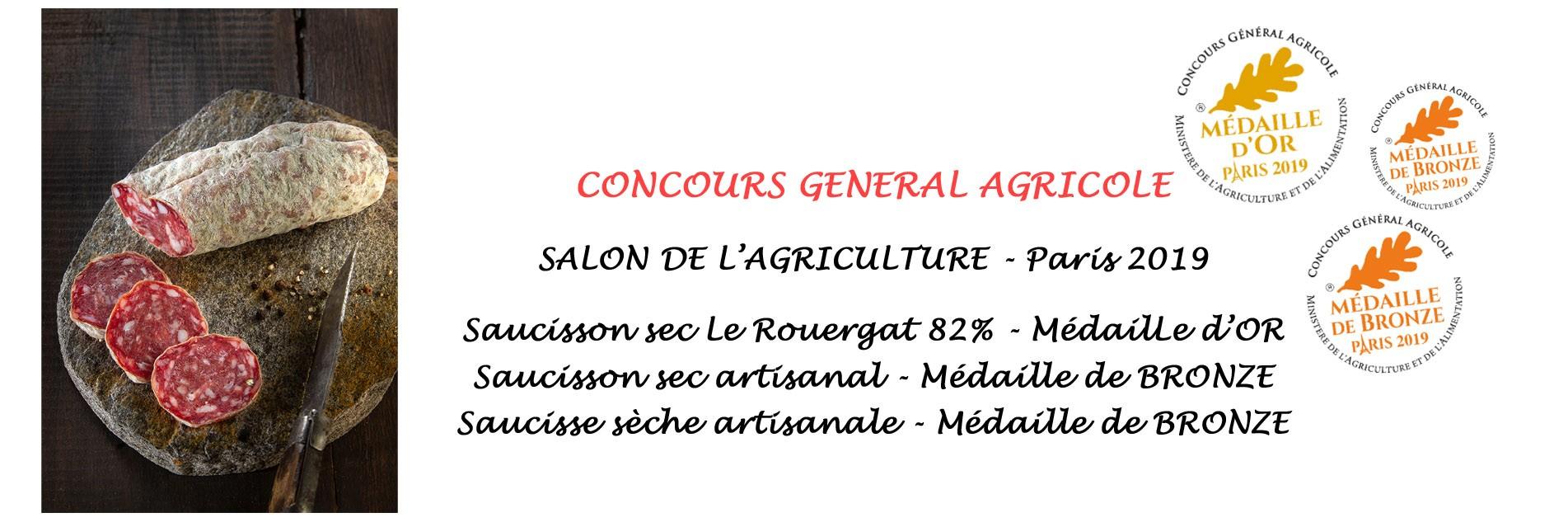 Salaisons LINARD récompensé au salon de l'agriculture